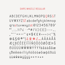 Ships Whistle Font