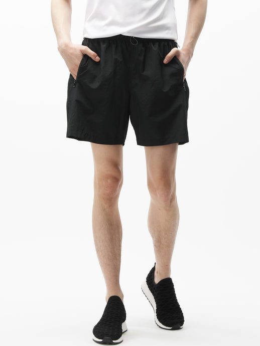 PACKABLE SIDE ZIP TECH SHORTS