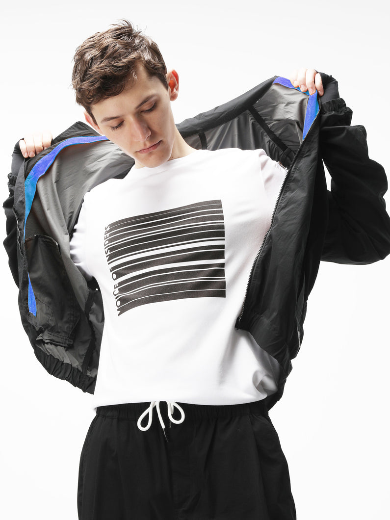 LIGHTWEIGHT PACKABLE RUCHED RUNNING BOMBER