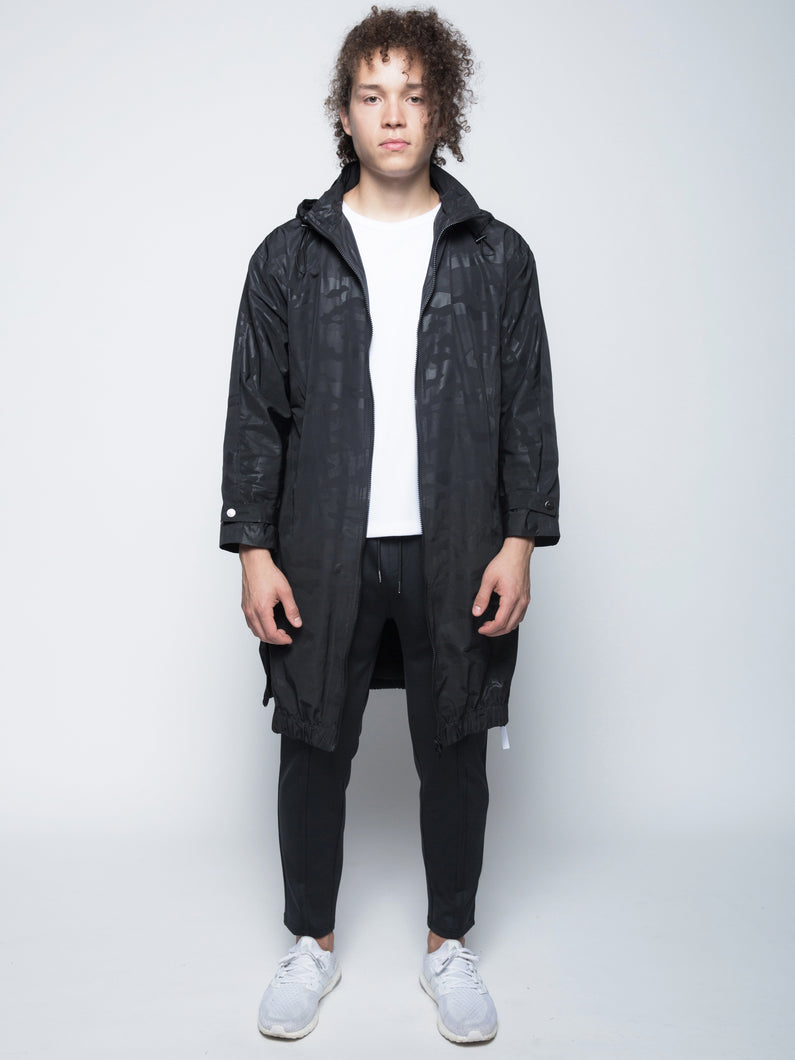 DETACHABLE HOOD TECHNICAL PARKA