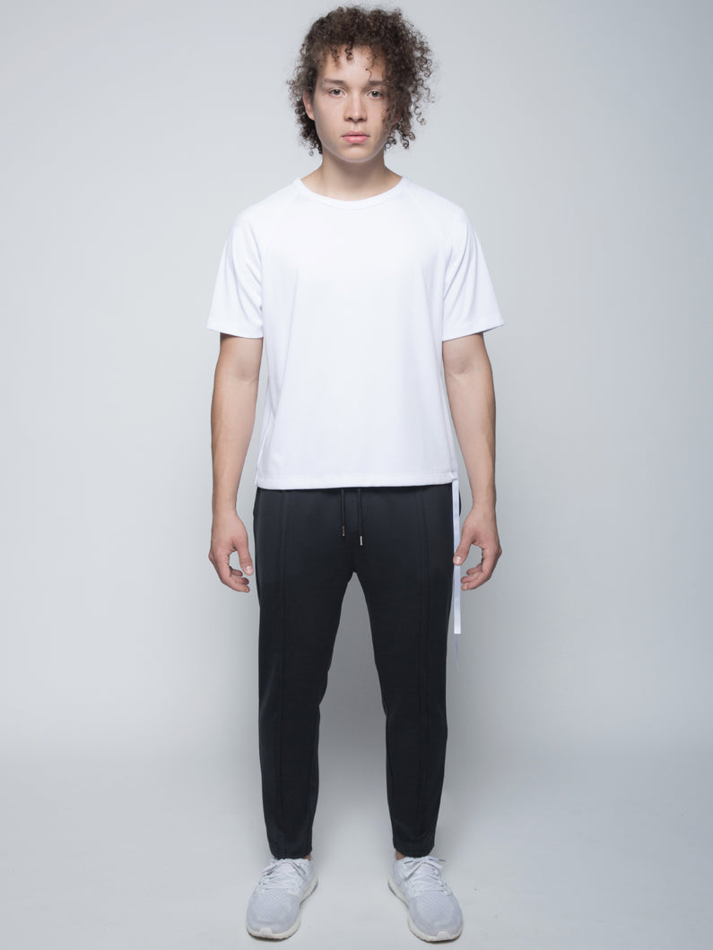 RAGLAN STRIP TEE