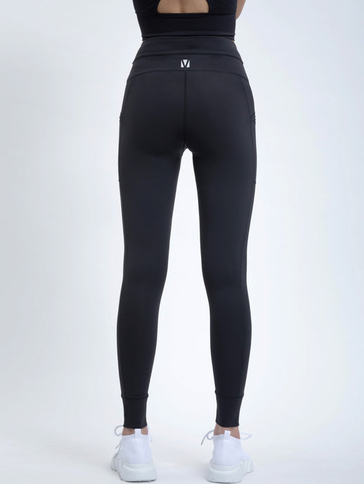 TRACK LEGGING IN BLACK