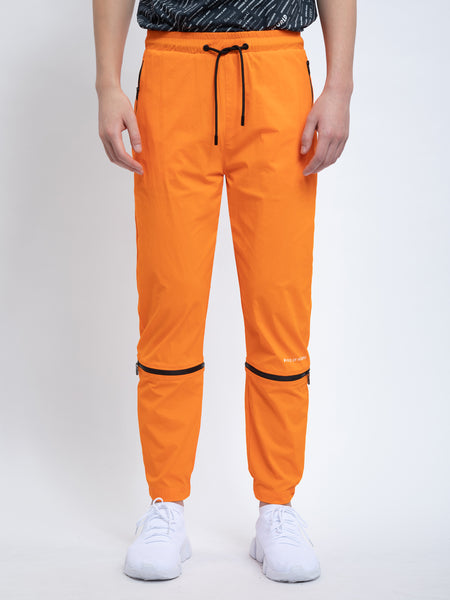 TRANSFORMABLE PANTS IN TIGER ORANGE