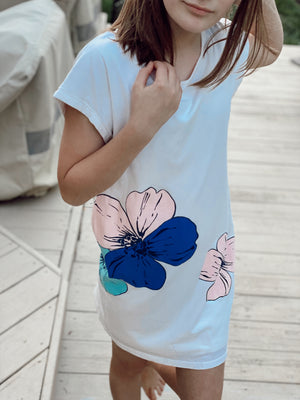 Chloe Flower Print Dress