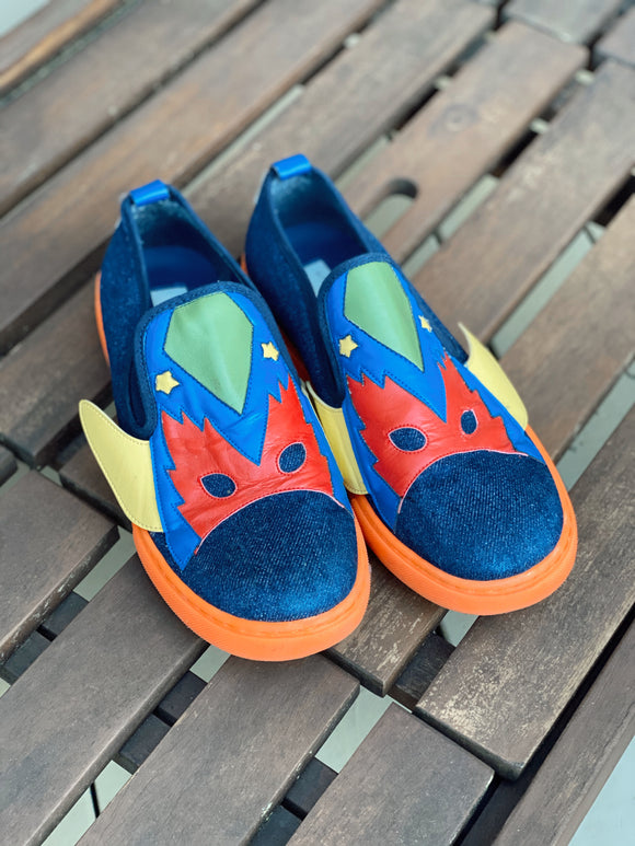 Stella McCartney Kids Superhero Slip on Sneaker