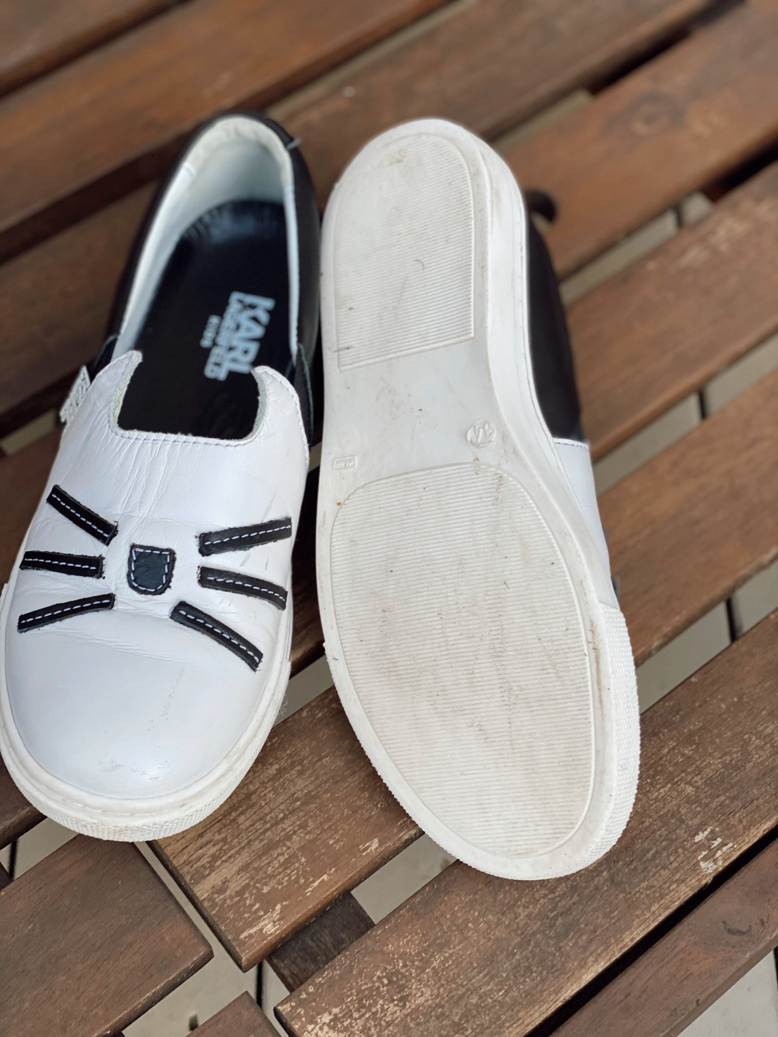 Karl Lagerfield Slip On Sneaker