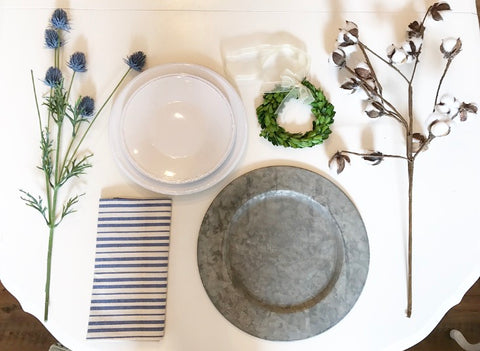 Simple Place-Setting Ideas – The White Rabbit STL