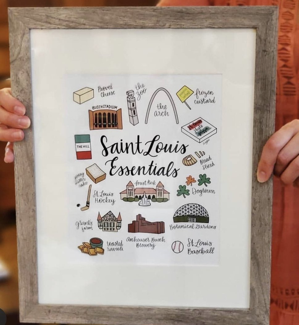 St. Louis Essentials Print