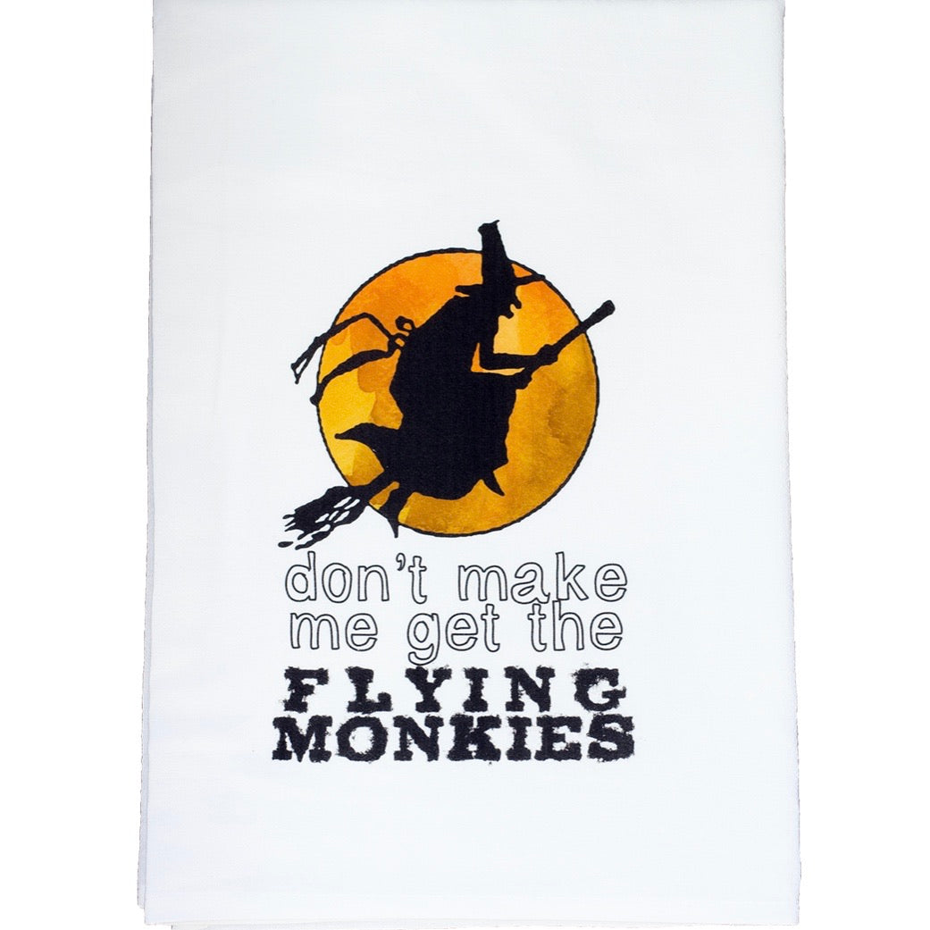 Flying monkeys towel