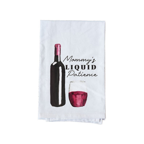 Mommy's liquid patience towel