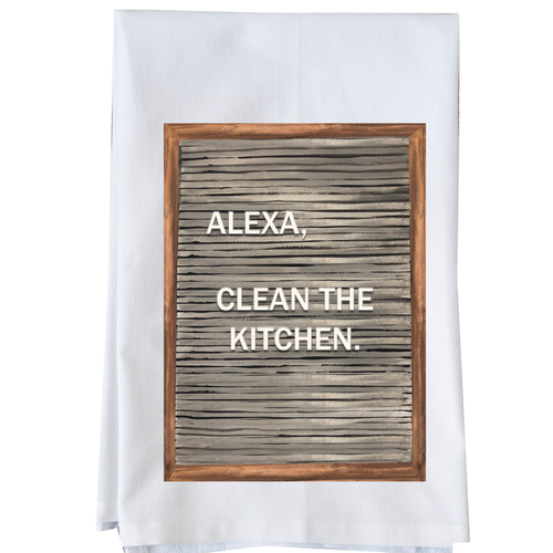Alexa, clean the kitchen