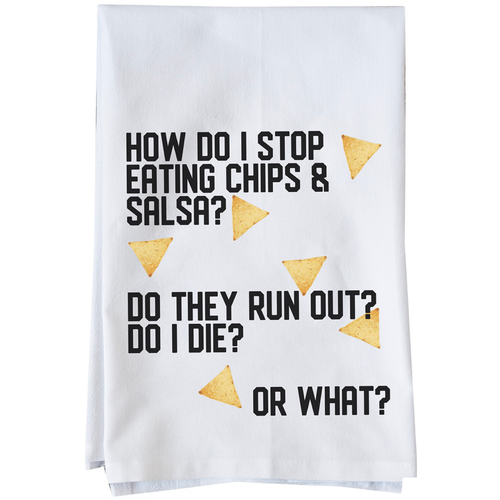 Chips and salsa towel