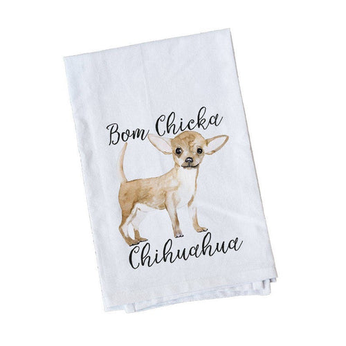 Chihuahua kitchen towel