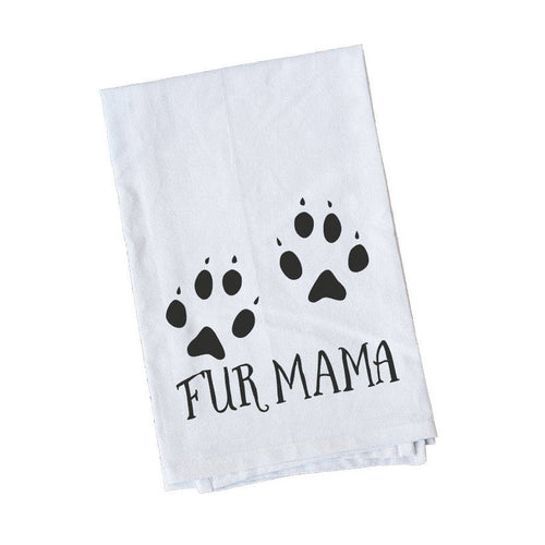Fur mama towel