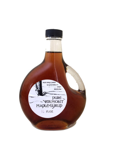 Pure Vermont Maple Syrup - Glass 16oz