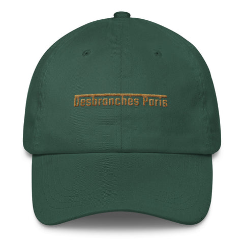 Gold logo dad hat