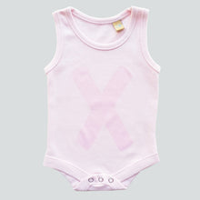 newborn and baby pink onesie vest