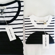 match your mini nautical stripe t-shirt with black spot