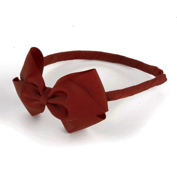 Large Scarlet Alice Band