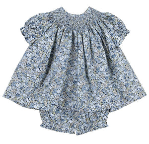 Baby Blue Liberty Floral Set
