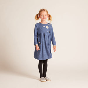 Falling Space Dress with Lambswool & Cashmere
