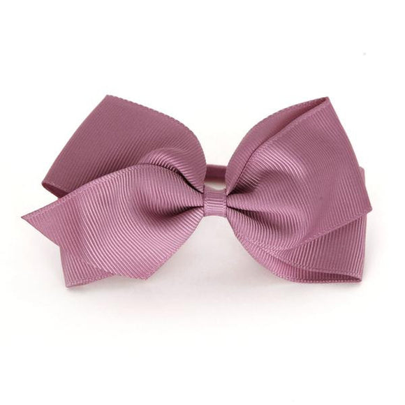 Large Rosy Mauve Hair Elastic