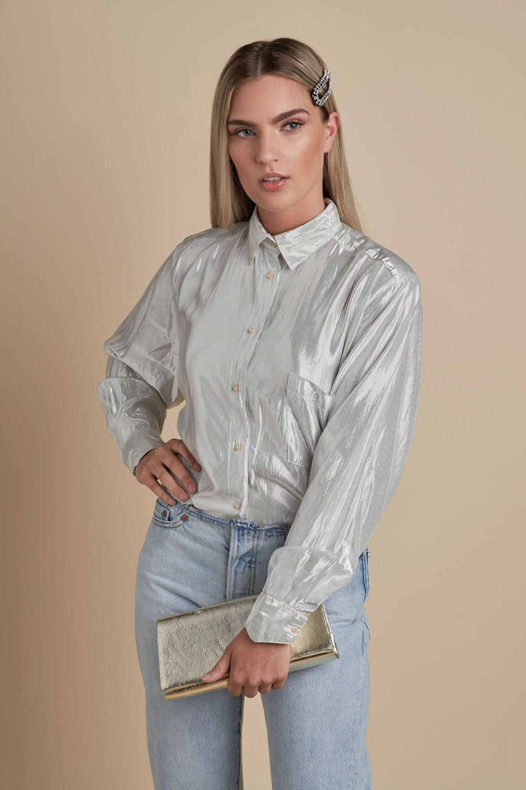 Glam Hard Blouse