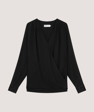 The Shirt — Classic Black Nursing Shirt