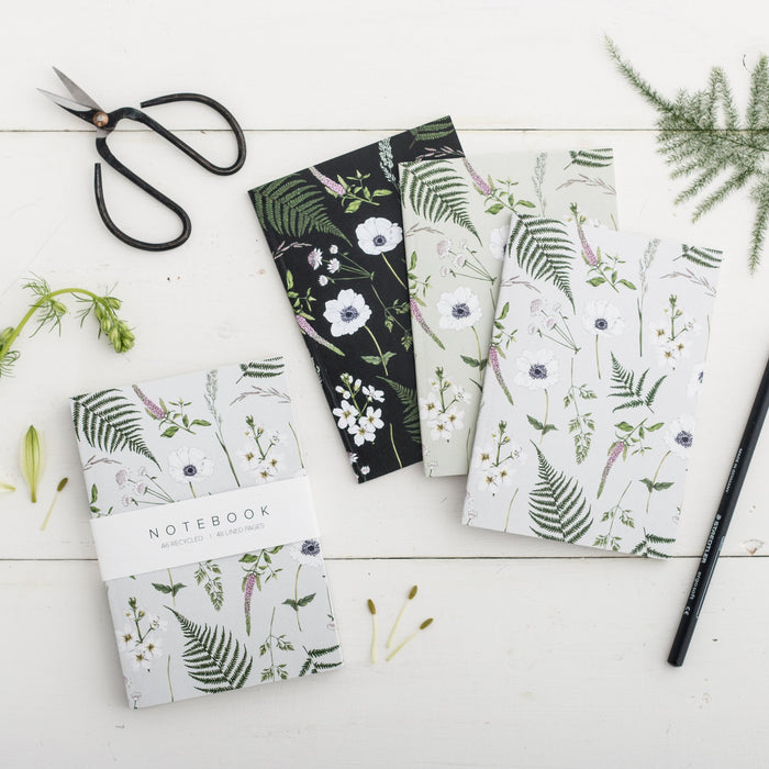Floral Notebooks (x3), Catherine Lewis