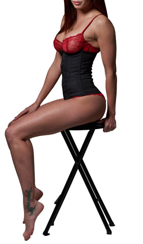 Waist Cincher Shaper Trainer - Latex Zippered