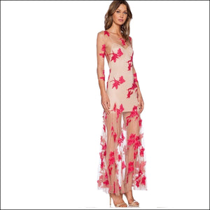 Behold Beauty Maxi Dress - Echo90210