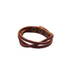 Braided Leather Wrap Bracelet - Echo90210