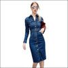 Dancing Queen Denim Dress - Echo90210