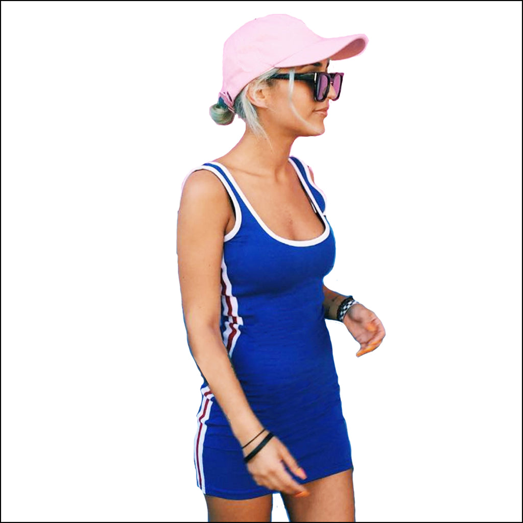 Fly Me To The Moon Sports Dress - Echo90210