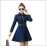 Pretty Girl Denim Dress - Echo90210