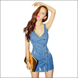 Sabrina's Desire Denim Dress - Echo90210