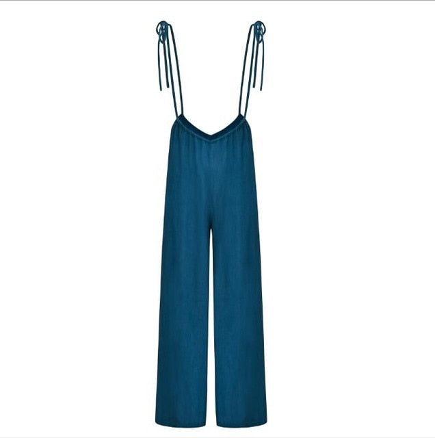 A Day At The Beach Jumpsuit - Echo90210