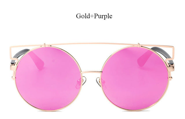 Oversized Mirror Sunglasses - Echo90210