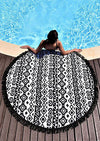 Beach Pop Round Towel - Echo90210