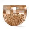 Bamboo Half Moon Clutch - Echo90210