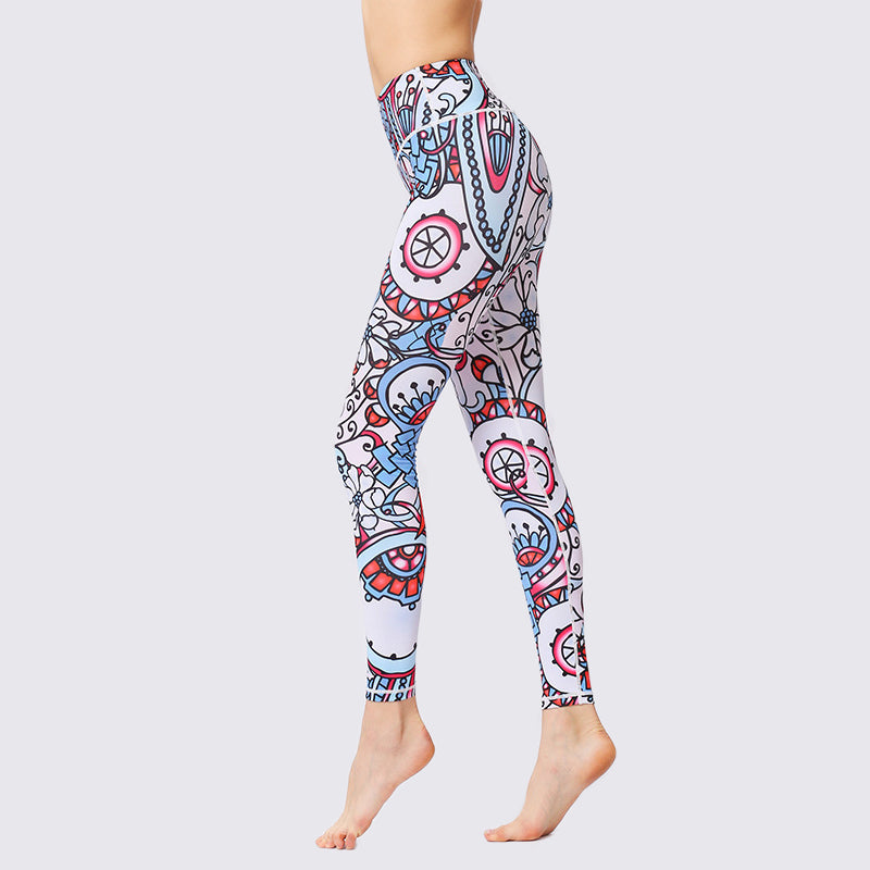 Map of The World and Sailor's Horizon Leggings - Echo90210