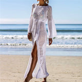 Venus Sun Crochet Beach Dress - Echo90210