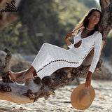 Artemis Crochet Beach Dress - Echo90210