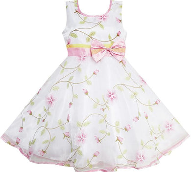 Flower flow dress