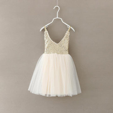 Ballerina Tulle Sequin Dress