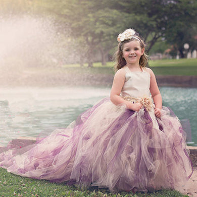 Long Trailing tutu Dress