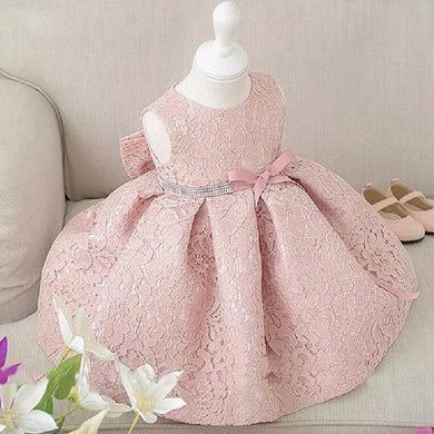 lace flower dress