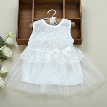 Baby Girls Dress  Lace Voile