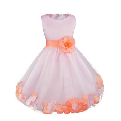 Girls Flower Petals Dress