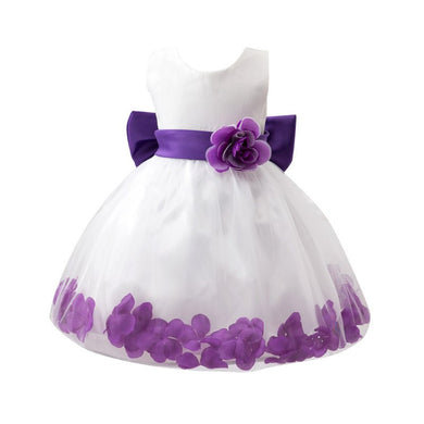 Girl Petal Party Flower Tutu Dress
